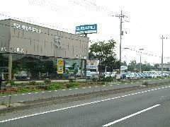上武店にはスバル車を中心に展示しております。