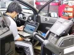 輸入車専用の最新コンピューター診断機完備!あらゆるお車の整備に対応。