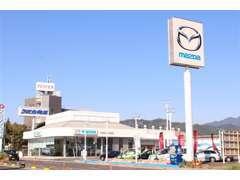 静岡駅から向かうと国道1号線沿いの左手側にございます。