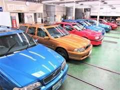 日本でも限られる1990年代のボルボを今に蘇らせた「ボルボ復刻車」つくりには蓄積された経験、技術により完成されております。