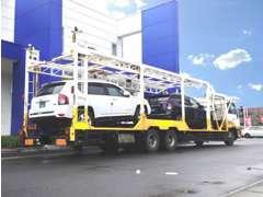 お客様の大切なお車を南は沖縄から北は北海道まで、全国の陸運局にて登録してご自宅までお届けしております。