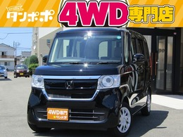 ホンダ N-BOX 660 G L ホンダセンシング 4WD 社外ナビ/フルセグTV 左側PSドア