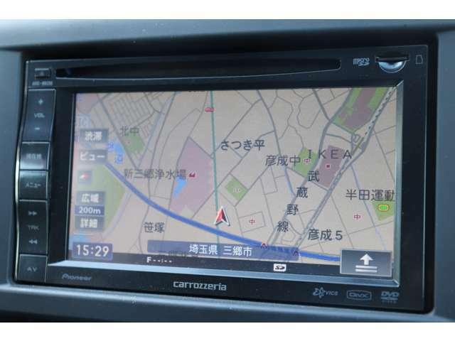 【AVIC-MRZ85】カロッツェリアメモリーナビ付き BTオーディオ対応 AUX・USB入力 BTオーディオ対応 バックカメラも付いてます!