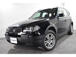 BMW X3 2.5i 4WD フォグランプ リアスポイラー 純正17AW