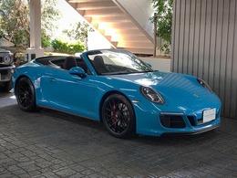 ポルシェ 911カブリオレ カレラGTSカブリオレ 7速マニュアル