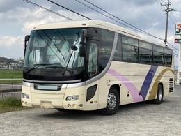 日野自動車 セレガ 大型バス 55人乗り 観光仕様 ハイデッカー 貫通トランク3室 ニーリング 総輪エアサス