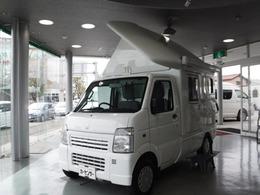 スズキ キャリイ 4WD Transform Camper FFヒーター サイドオーニング