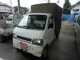 スズキ キャリイ 660 KU 3方開 ホロ車 5速マニュアル 記録簿付き