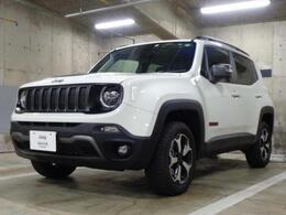 ジープ レネゲード トレイルホーク 4WD 新車保証継承