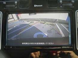 クッキリ綺麗なフルセグTV付のナビゲーションには充電スポット表示やタイマー充電設定などの専用機能付、バックカメラも付いてるので駐車も安心♪
