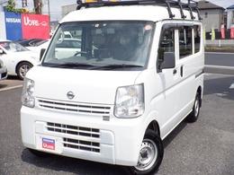 日産 NV100クリッパー 660 DX GLパッケージ ハイルーフ 5AGS車 4WD ル-フキャリア付 キーレス ETC ドラレコ