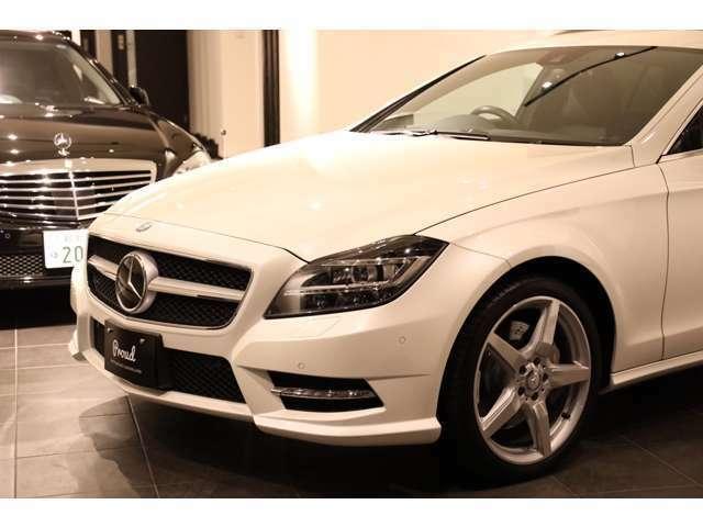 ◆詳細◆ダイヤモンドホワイト(カラー:799)●CLS350シューティングブレーク AMGスポーツPKG●ユーザー買取車●ブラックアッシュウッド●レーダーセーフティPKG●LEDドライビングライト●