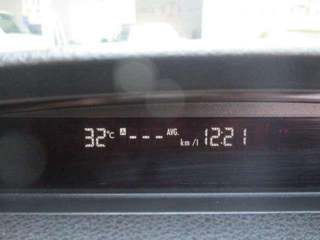ガソリン価格が不安定な今日だからこそ気にしながら乗りたい燃費もインフォメーション内でリアルタイムに確認出来ます!
