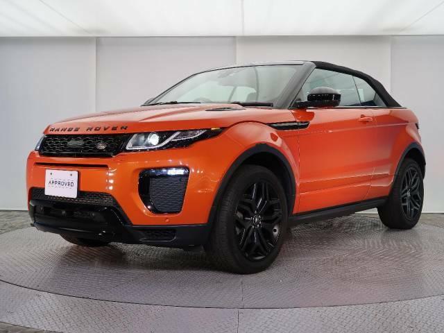 OPのブラックデザインパック!20インチ5スプリットスポークブラックAWやブラックスクリプト、ヘッドライトフィニッシャー、フロントグリルなど随所に黒があり、オレンジの車体との相性が良い装備です!