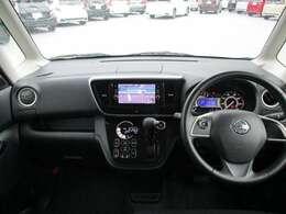 前席の模様です!視界も広く運転しやすいです!!