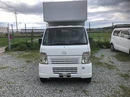 マツダ スクラムトラック 660 KC スペシャル 3方開 キッチンカー