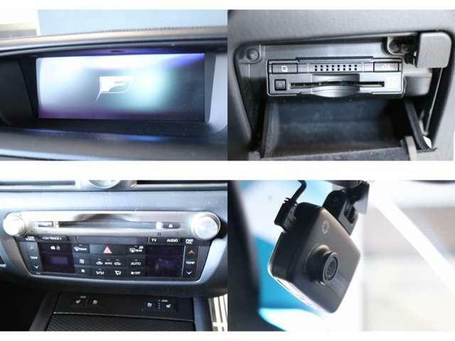 純正ナビ フルセグTV ブルーレイ・DVD・CD・SD再生 Bluetooth・AUX・USB接続 ETC2.0 ドライブレコーダー