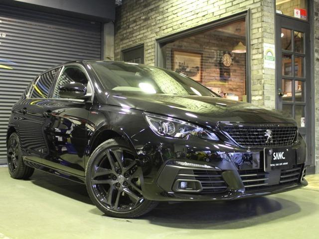 2020年 PEUGEOT 308GT Line BlueHDi Black Pack 特別仕様車 ペルラネラブラック 令和5年3月まで新車保証継承可能