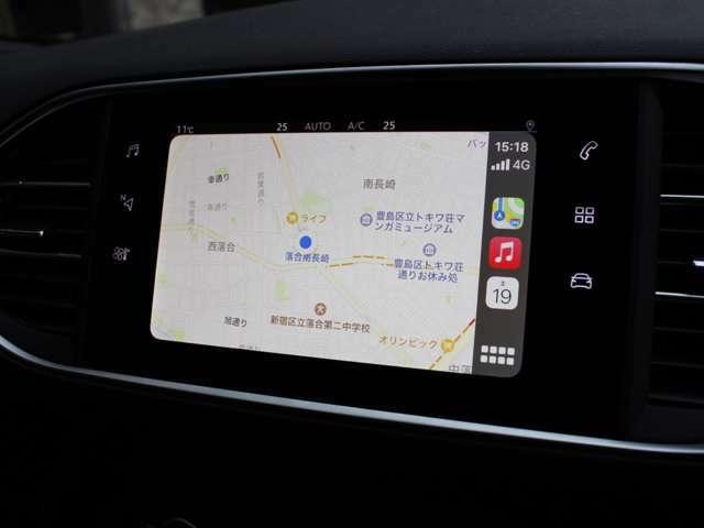 グーグルマップがご利用頂けます。スマートフォン接続でアプリをご利用になって頂けます。