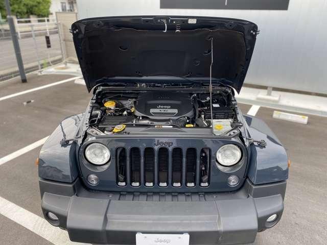 V6.3.6リッターのエンジンは何処でも連れてってくれます。