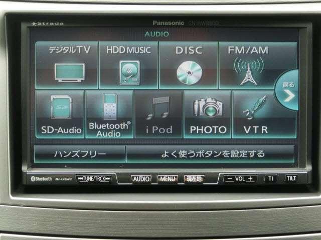 純正ワンセグHDDナビ!DVD再生、Bluetooth接続できます!