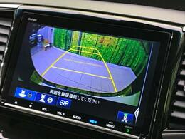 【バックカメラ】カラーで後方の映像を映してくれます☆障害物や車庫入れの際の確認もとれて安心ですね♪