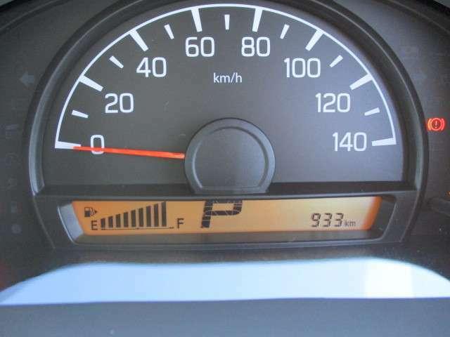 走行距離は933キロです