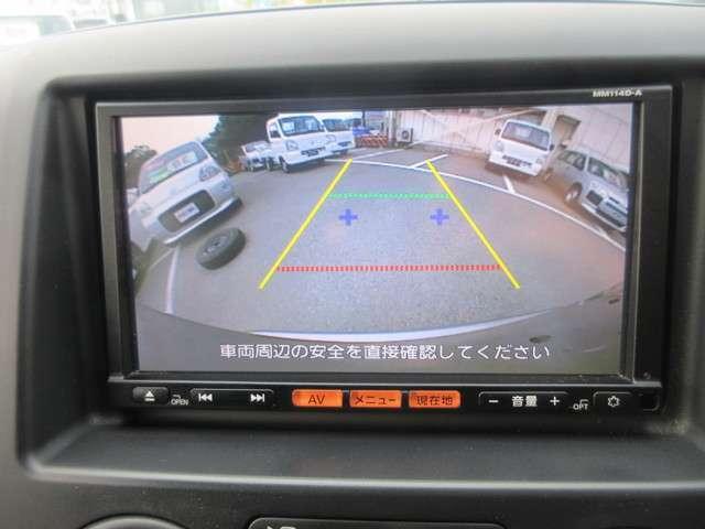 バックカメラ付いてます☆駐車時や障害物の確認にも便利です!!