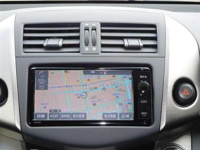純正メモリーナビが付いています!ご家族でのドライブにお仕事に活躍してくれるので、今や快適なカーライフには必須の装備です。