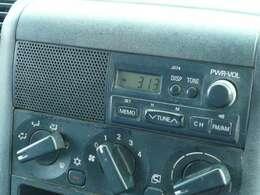 ラジオ付きで退屈しません☆