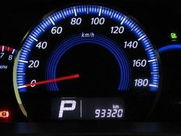 走行距離はおよそ93,000kmです。