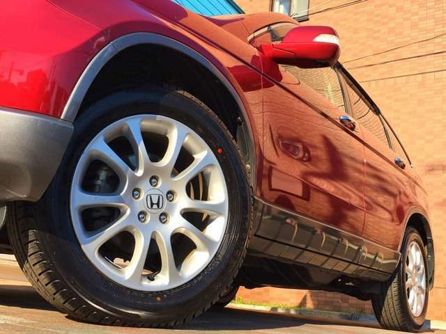 Aプラン画像:純正18インチアルミ(*'▽') 2018年製造タイヤで残り溝もバッチリ♪