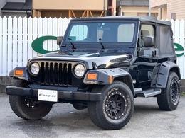 ジープ ラングラー スポーツ ソフトトップ 4WD ワイドロ-カスタムプロコンプAW新品幌交換