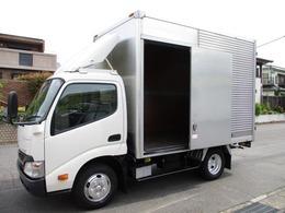 トヨタ トヨエース アルミバン AT 5t免許 2t 309x177x217