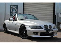 BMW Z3 ロードスター 2.0 5MT 左H 赤革 momoステア HID 社外アルミ