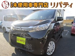 三菱 eKワゴン 660 M 届出済未使用車 禁煙車 衝突軽減ブレーキ