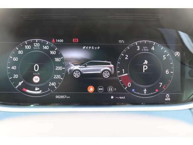 「SE」ではメーター計もデジタルとなり、ナビゲーションの表示等幅広い活用方法がとれます。