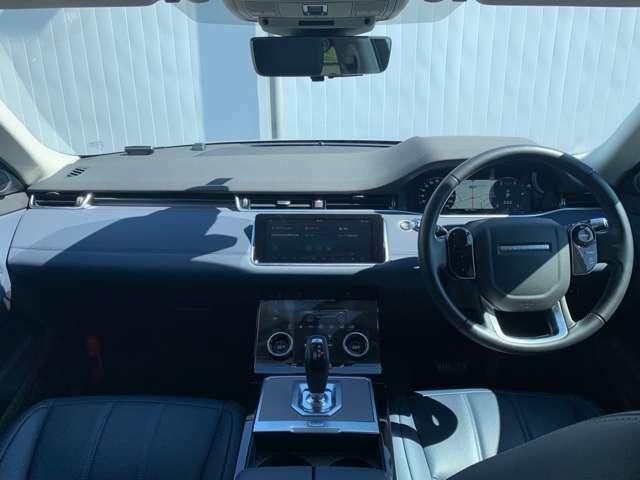 コマンドドライビングポジションにより、前方の視界を広く確保することで安全性を高め、運転をサポートします。