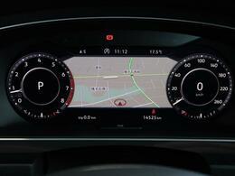 ●アクティブインフォディスプレイ:次世代のメーターは、ナビやオーディオとも連動しております!ドライバーの運転サポートとしては、かなり便利な機能ですね♪
