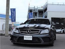 メルセデスAMG Cクラスクーペ C63クーペ ブラックシリーズ EX-PKG 左ハンドル ワンオーナー ディーラー車