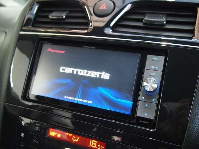 ☆カロッツェリアサイバーナビ付きです!フルセグTV、DVD再生、Bluetooth、HDMI対応です!