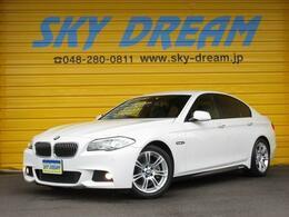 BMW 5シリーズ 528i Mスポーツパッケージ /ナビTV/アイドリングS/専用18AW/革シート