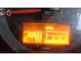 現在走行距離   42.942 KMです!