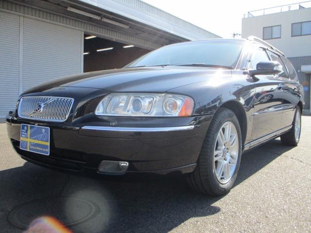 V70 Classic!ブラックサファイアメタリック!2007年モデル!ディーラー車!!