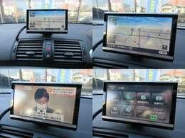 社外ナビが装備されております♪画面もクリアで運転中も確認しやすいです♪テレビの視聴もお楽しみ頂けます♪輸入車はナビなどの取り付けも高額になるので、最初から付いていたらうれしいですよね♪