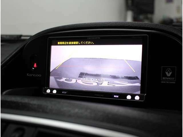 バックカメラ搭載で駐車も安心です!