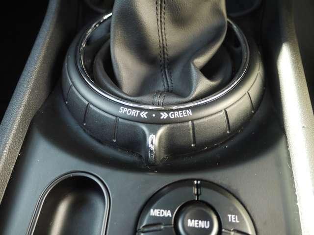 ドライビングモードも装備です♪