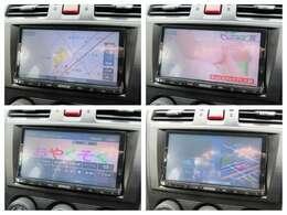 社外ナビが装備されております♪画面もクリアで運転中も確認しやすいです♪フルセグTVとDVDの視聴もお楽しみ頂けます♪Bluetooth接続も可能ですのでお好きな音楽をかけて楽しくドライブをしてください♪