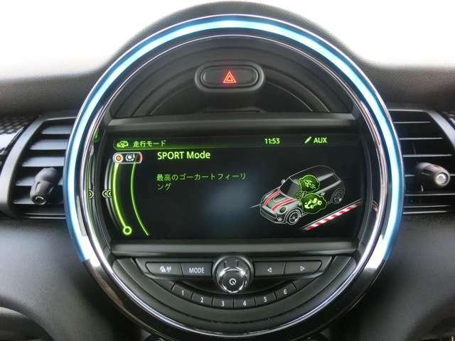 ドライビングモードセレクターでスポーツ・エコの走行モード切替が可能です。