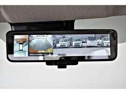 デジタルルームミラー装備☆車内の状況や天候に関わらず、後方の視認性を高めて安全運転をサポートします♪夜間や雨天時の後方視認に大活躍です! マルチアラウンドモニター(全周囲カメラ)表示機能付(^^)v
